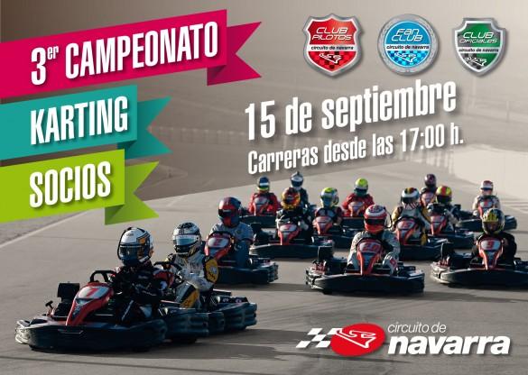campeonato karting circuito de navarra