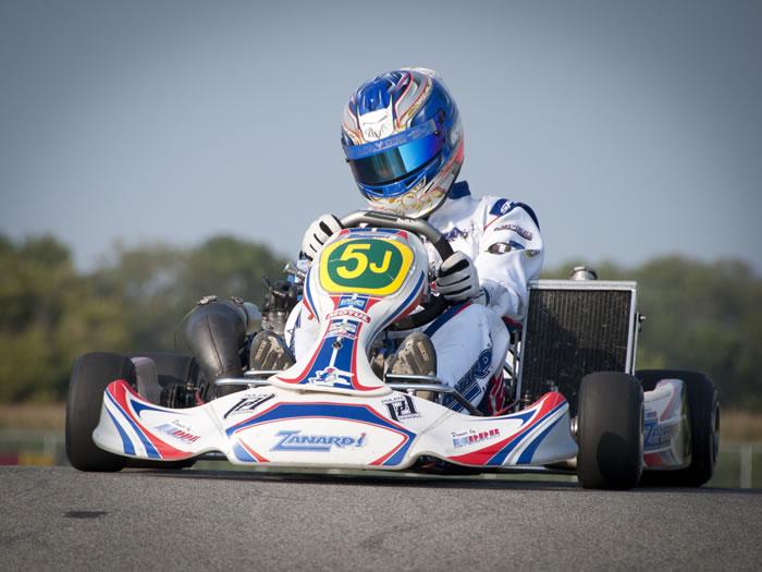 US Karting_Eric Batt_Zanardi Kz 1 DDR Honda 125_Batt Motorsports -® Batt Motorsports