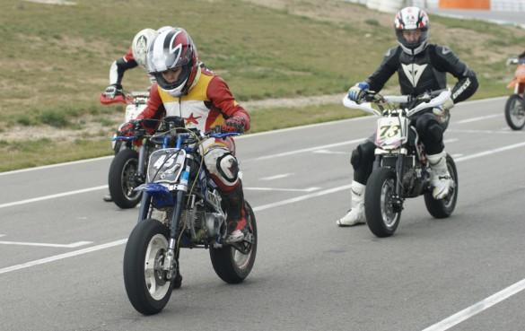 Supermotard Karting Circuito de Navarra