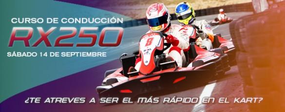 14 DE SEPTIEMBRE, CURSO DE CONDUCCIÓN DEL RX250