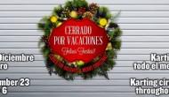 EL CIRCUITO DE KARTING CERRADO TODO EL MES DE ENERO