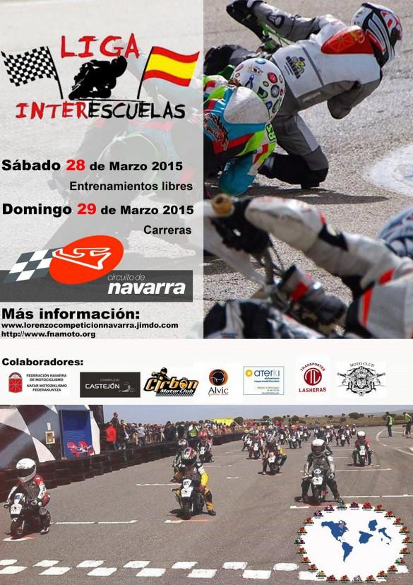 LIGA INTERESCUELAS MOTOCICLISMO Y ENTRENAMIENTOS DÍAS 28 Y 29